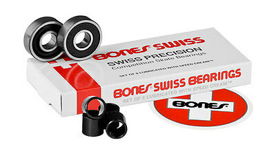 Bones Swiss-Swiss Precision Competition Skate Bearings Set 8