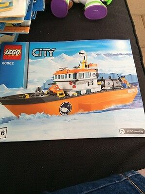 lego City instruction book only 60062 book 6
