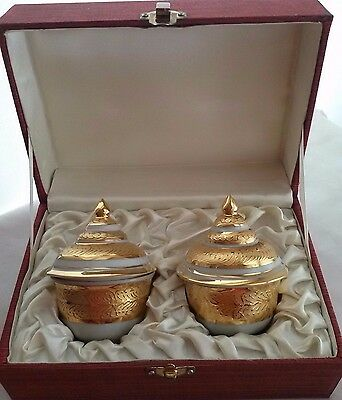 Thai Bowl Benjarong Premime Gift Collectible Hand Made Home Decorate Office Asia