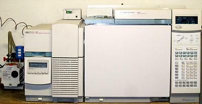 Agilent GCMS System 6890 5973N PC with E.02.02 MSD Chemstation - Tested