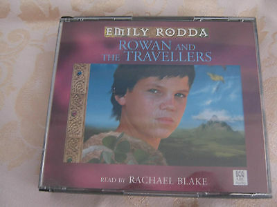 ROWAN and the TRAVELLERS AUDIO BOOK/CD by EMILY RODDA ( 3 CD'S )