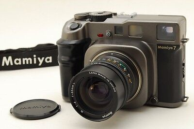 【Exc++++】 Mamiya 7 Medium Format Rangefinder with 65mm f/4 Kit from Japan 0197N