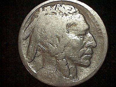 1913-d type 2 date restored buffalo nickel #505