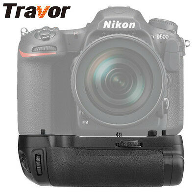 Travor Vertical Battery Grip Holder For Nikon D500 DSLR Camera Body as MB-D17