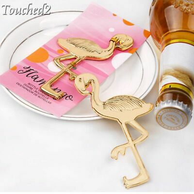 1Pc Novelty Metal Flamingo Bar Beer Wine Bottle Opener Wedding Party Favor Gift