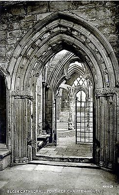 Elgin Cathedral : Porch of Chapter House.