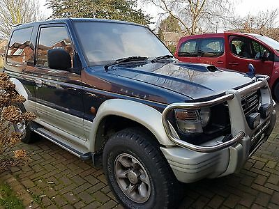 1995 Mitsubishi Pajero Swb Blue 2.8Td Intercooler Import