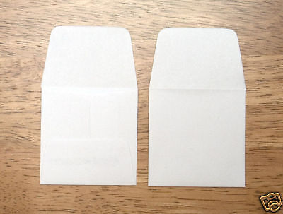 """1 Box Of 1000 2"""" Square White Paper Coin Envelope's!!!!"""