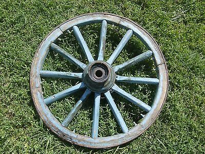 Cart Wheel - Cartwheel -  Garden Feature - Architectural Feature - Rustic