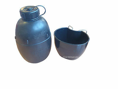 British Army - 58 Pattern Water Bottle And Cup - Grade 1 Condition