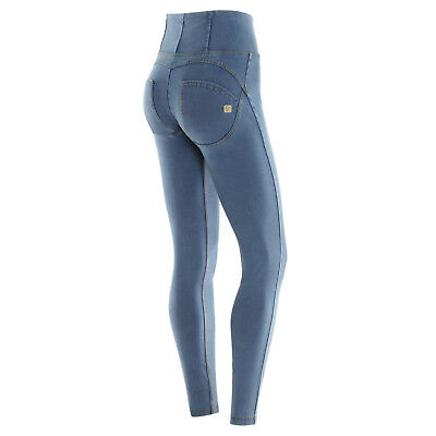 FREDDY WR.UP Pantalone Donna Jeans Vita Alta Trousers Denim  WRUP1HJ01E J4Y WRUP