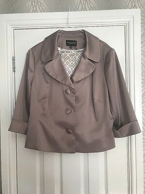 Women's Silk Suit Jacket Size 20 From Debenhams Collection