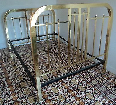 Antique brass bed