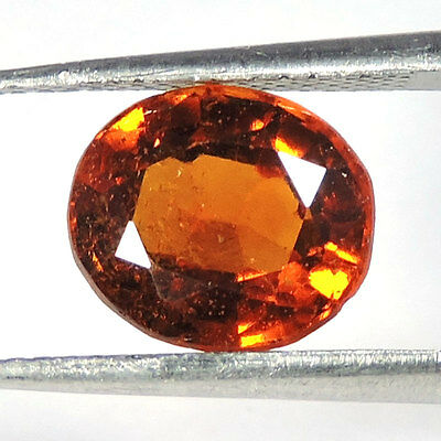 3.50Cts AWESOME TOP NEW RARE 100% NATURAL AXINITE OVAL CUT LOOSE GEMSTONES