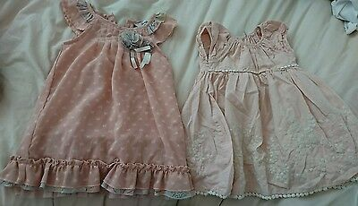 baby girl dress bundle 12-18 months