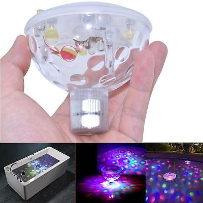 Underwater LED AquaGlow Light Color Changing Disco Ball light for Pond Pool Spa