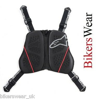 Alpinestars Nucleon KR-C Motorcycle Protector with chest fastning to back plate