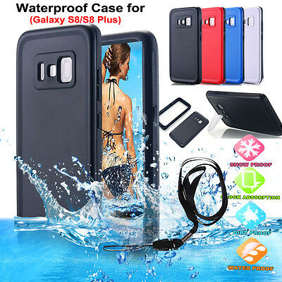 Shockproof Waterproof Dirt Proof Hard Case Full Cover For Samsung Galaxy S8/ S8+