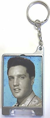 GI Blues It Happened At The Worlds Fair Elvis Presley movie poster keyring Torch