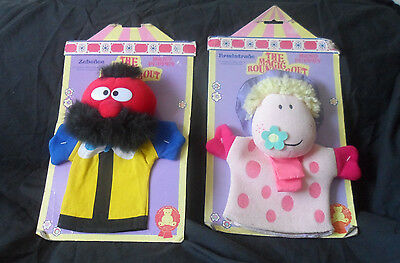 The Magic Roundabout Pair of Hand Puppets Zebedee and Ermintrude