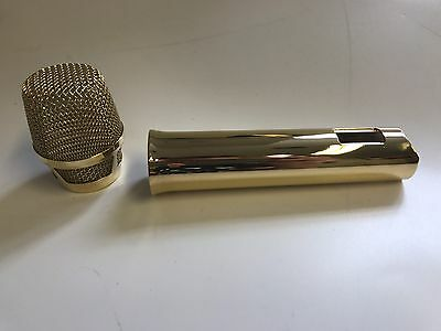 Sennheiser skm5200 24ct Gold Microphone Shell And Grill