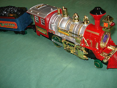 Vintage Eastern Express Battery-Operated Super Train Set