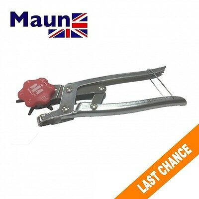 Maun    Lever Assisted  Leather Rotary Hole Punch  Rotating Hole Cutter