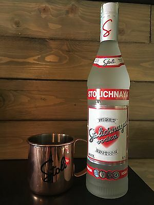 VODKA Russa STOLICHNAYA Night Edition Limited IDEAL FOR MIXOLOGY AND MOSCOW MULE
