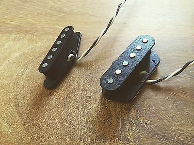 Hand-wound Telecaster Pickups. Set of Durty Brutes by Amdusias Devices.