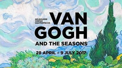Van Gogh And The Seasons With Ben Salter - NGV Friday 30th June! Sold Out!