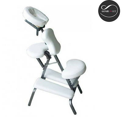 Portable Folding Massage Chair Beauty Therapy Stool Adjustable Tattoo