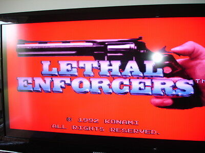 Lethall Enforcer 1992 Pcb By Konami
