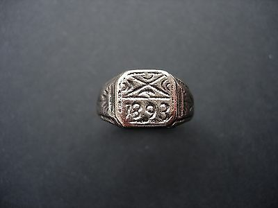 Very Old Antique Bronze Ring - Wearable