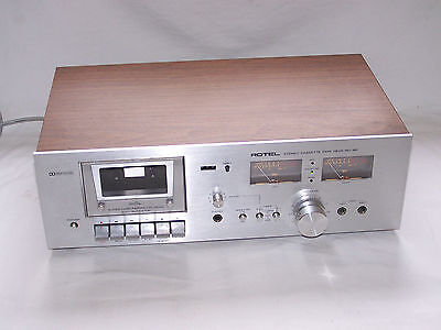 Vintage Rotel RD-18F Stereo Cassette Tape Deck