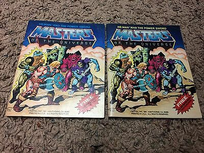Masters of the Universe: He-Man and the Power Sword Mini Comic - Both Variants!