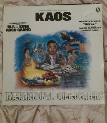 Kaos  ‎– International Dope Dealers LP Rare Courts in Session