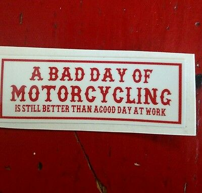 "Hells Angels Canaan Maine Support Sticker,""a Bad Day"""
