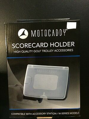 Bnb Motocaddy Scorecard Holder Compatible With M Series Or Accessory Station