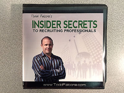Todd Falcone's Insider Secrets to Recruiting Professionals (CDs)