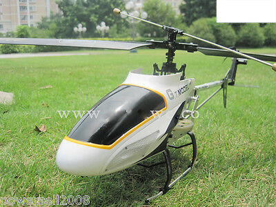 New White Length 72.5CM Remote Control Plane Helicopter Model Gift Children Toys