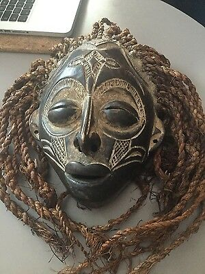 African tribal mask possibly from the Chokwe tribe