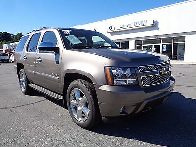 2011 Chevrolet Tahoe LTZ 2011 Chevrolet Tahoe LTZ 4WD 4X4 Leather Chrome Wheels DVD Navigation 3rd Row