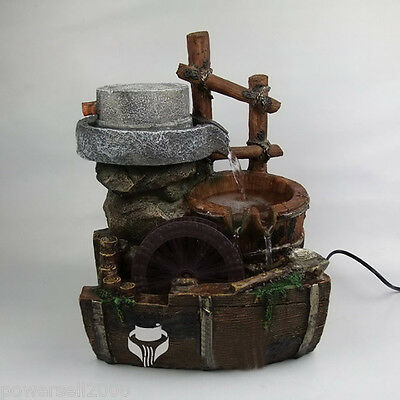New Fashion Home Decorative Craft Gifts European Aquarium Flowing Water Fountain