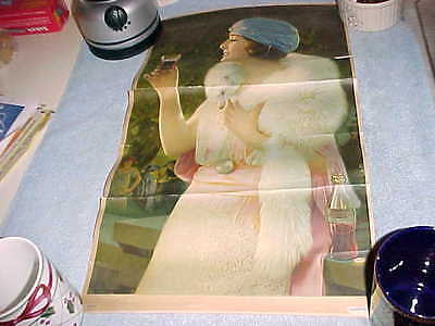 1925 Coca Cola  Coke  Calendar Top  =  As Found