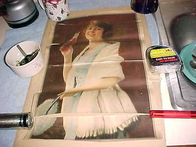 1923 Coca Cola  Coke  Calendar Top  =  As Found