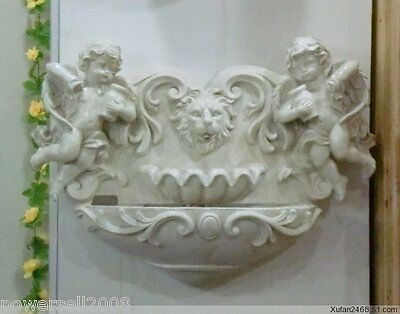 New Fashion Double angel fountain European home furnishing decoration