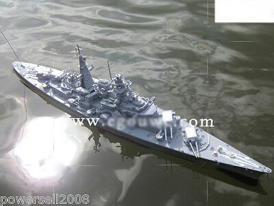 Length 71CM Remote Control Boat Simulation Warship Rowing Boat Model Gift Toys