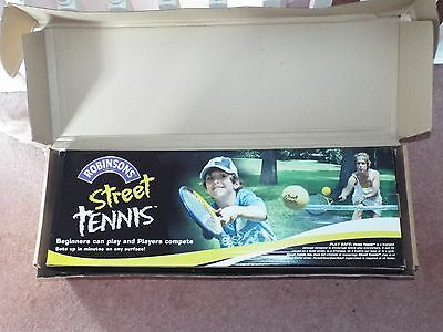 Robinsons Street Tennis Complete Set Up New Boxed
