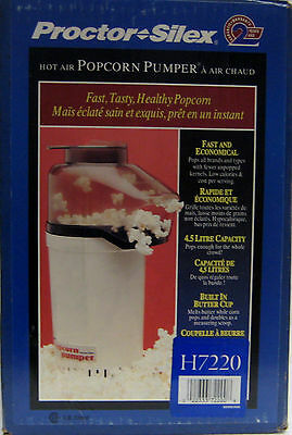 220V Proctor Silex Hot Air Popcorn Popper 4.5 L FOR EXPORT USE ONLY 220 VOLTS
