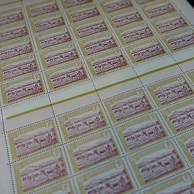 FEUILLE SHEET FRANCE COLONIE CAMEROUN N°106 x50 1925 NEUF ** LUXE MNH